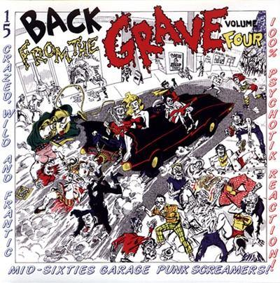 Various - Back From The Grave Vol.4 - LP