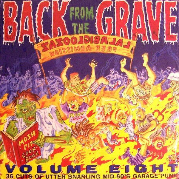 Various - Back From The Grave Vol.8 - LP