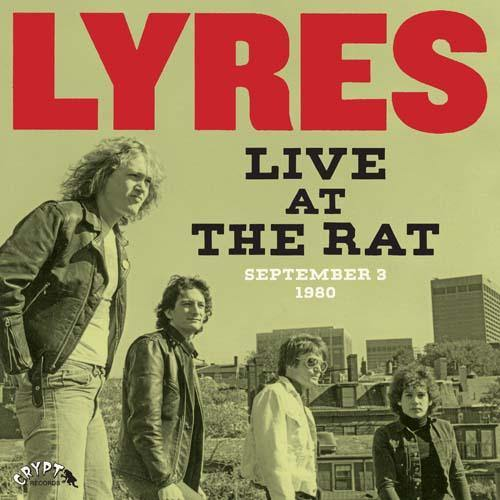 Lyres - Live At The Rat, September 3 1980 - LP