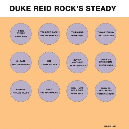 Various - Duke Reid Rock's Steady - LP orange vinyl