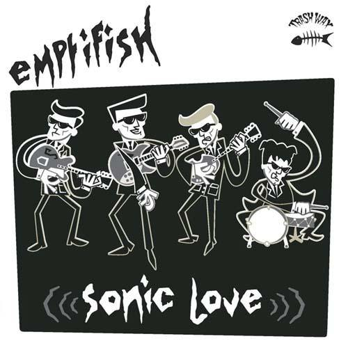 Emptifish - Sonic Love - LP (red vinyl)