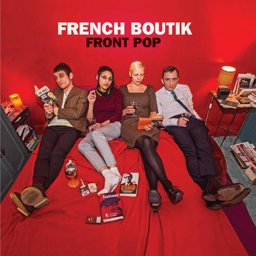 French Boutik - Front Pop - LP (red vinyl)