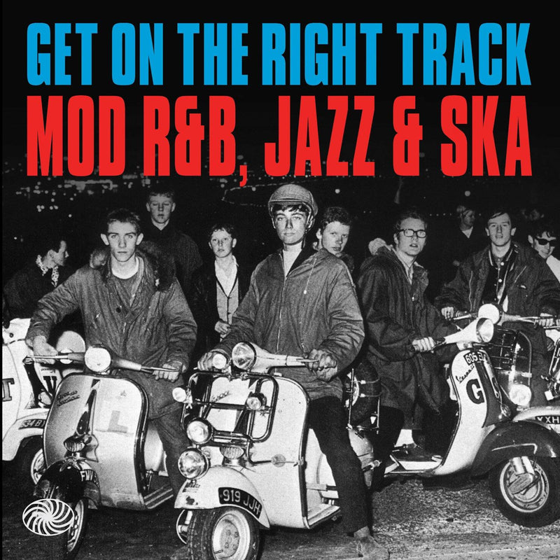 Various - Get On The Right Track - Mod R&B, Jazz & Ska - 3xCD Box