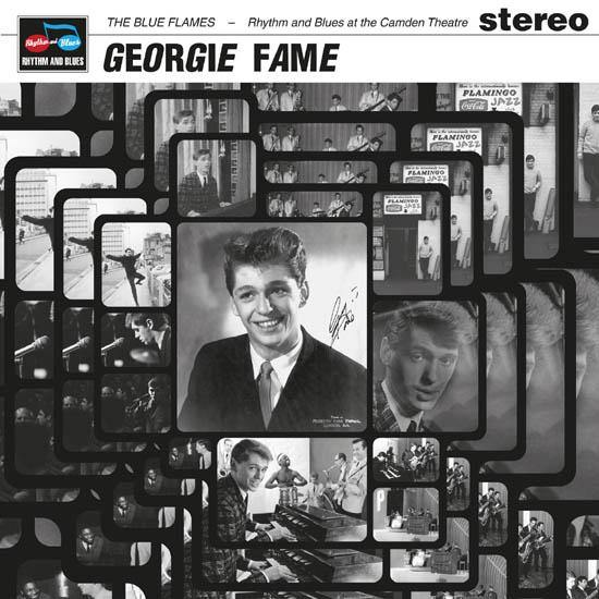 Georgie Fame and the Blue Flames - Rhythm and Blues at the Camden Theatre - LP