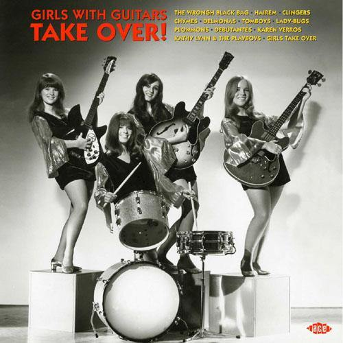 Various - GIRLS WITH GUITARS TAKE OVER - LP (col. vinyl)