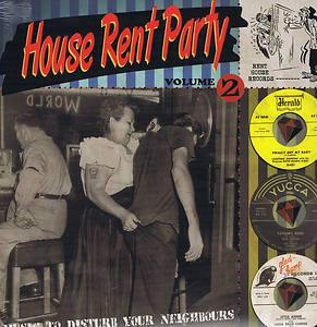 Various - House Rent Party Vol.2 - LP