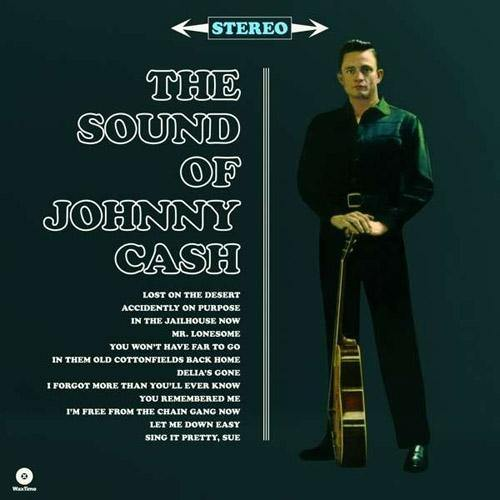 JOHNNY CASH - The Sound Of... - LP+MP3