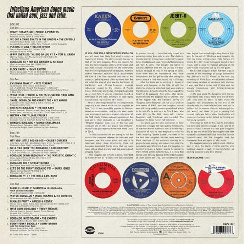 back sleeve - LET'S DO THE BOOGALOO - Double LP comp