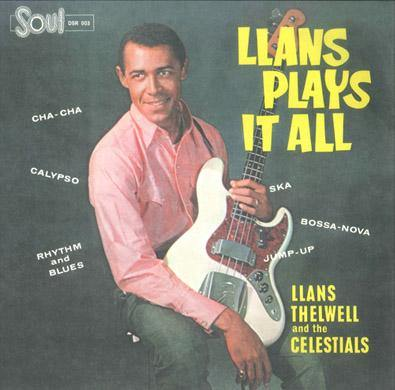 Llans Thelwell - Llans Plays It All - LP