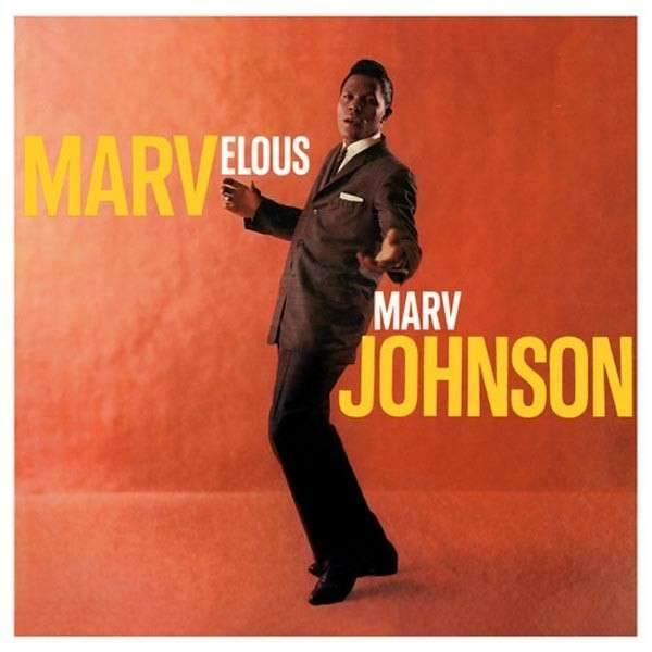 Marv Johnson - Marvelous - LP