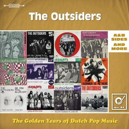 The Outsiders - The Golden Years Of Dutch Pop Musc: A&B Sides - DoLP