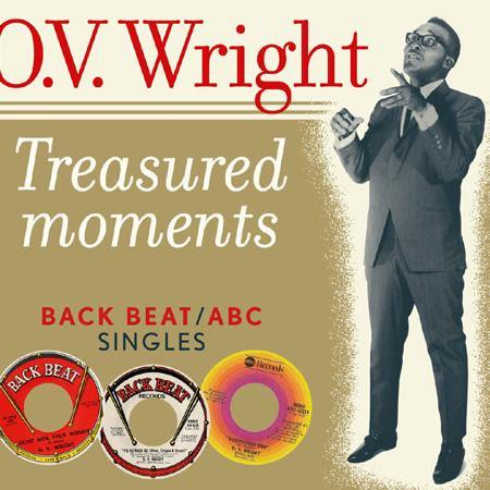 O.V. Wright - Treasured Moments - Back Beat / ABC Singles - LP