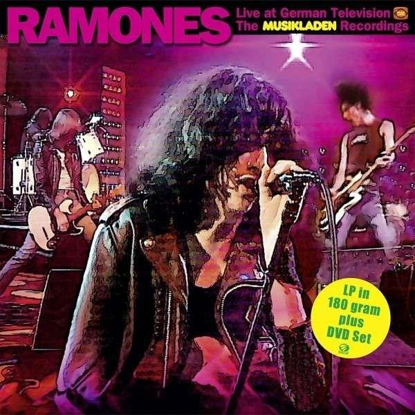 Ramones - Live At German Televison - LP+DVD