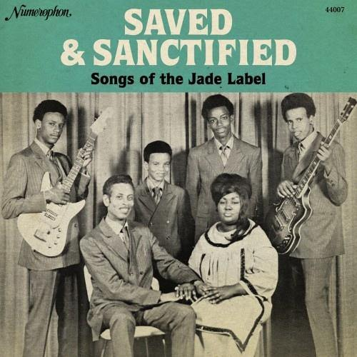 Various - SAVED & SANCTIFIED , Songs of the Jade Label - LP