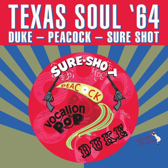 Various - TEXAS SOUL '64 - LP