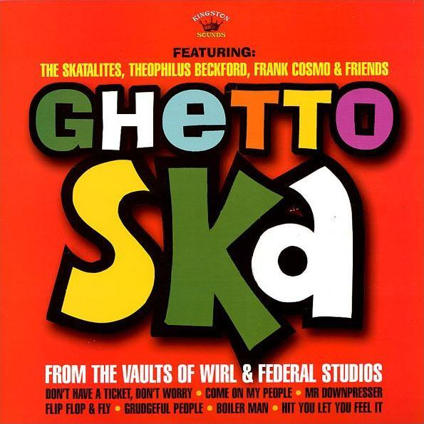 Various - Ghetto Ska - LP