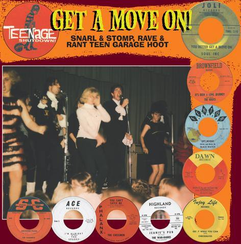 Various - Teenage Shutdown - Get A Move On! - LP