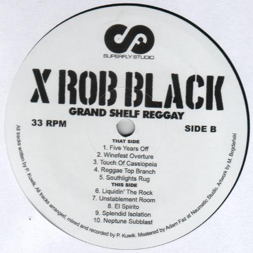 xRob Black - Grand Shelf Reggay - LP