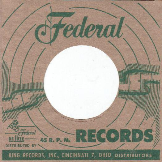 FEDERAL repro sleeve