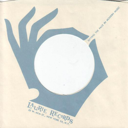 LAURIE RECORDS repro sleeve