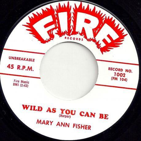 Mary Ann Fisher - Wild As You Can Be - 7""
