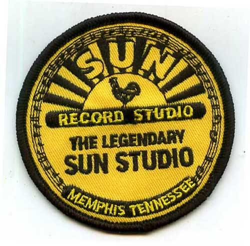 SUN RECORDS - embroidered patch