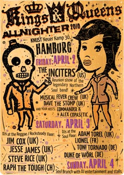Kings'n'Queens Weekender 2010 - Poster