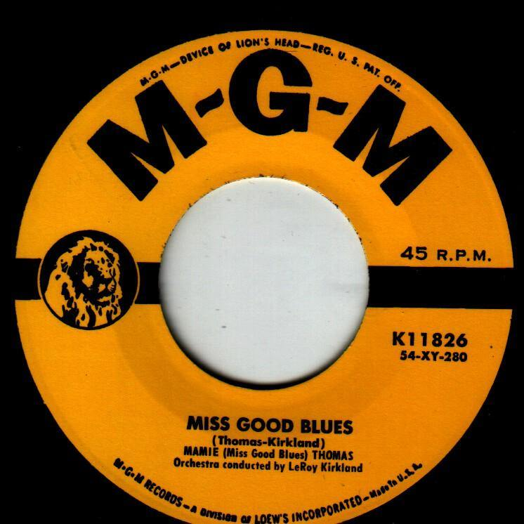 Mami Thomas - Miss Good Blues // Use What I'm Usin' - 7""
