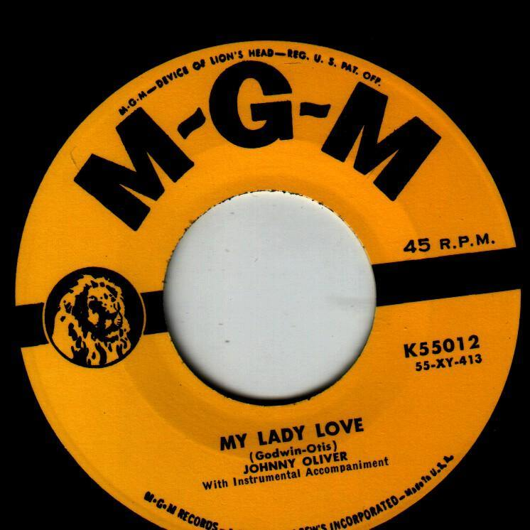 Johnny Oliver - My Lady Love // All I Have Is You - 7""