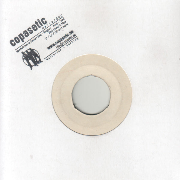 Karl Walker - One Minute To Zero // Don't Come Back (EX-//VG+) - 7""