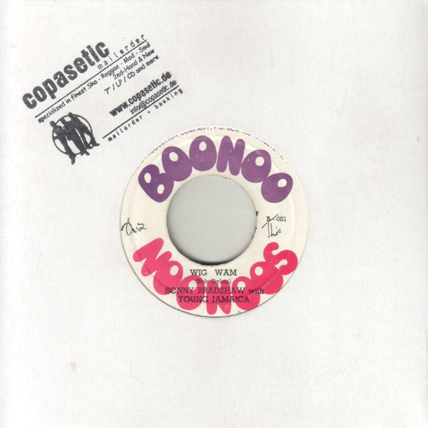 Sonny Bradshaw - Wig Wam // Peace And Love (EX//EX) - 7""