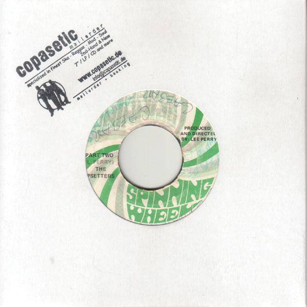 Dave Barker - Shocks 71 // Upsetters - Fresh Up (EX-//VG) - 7""