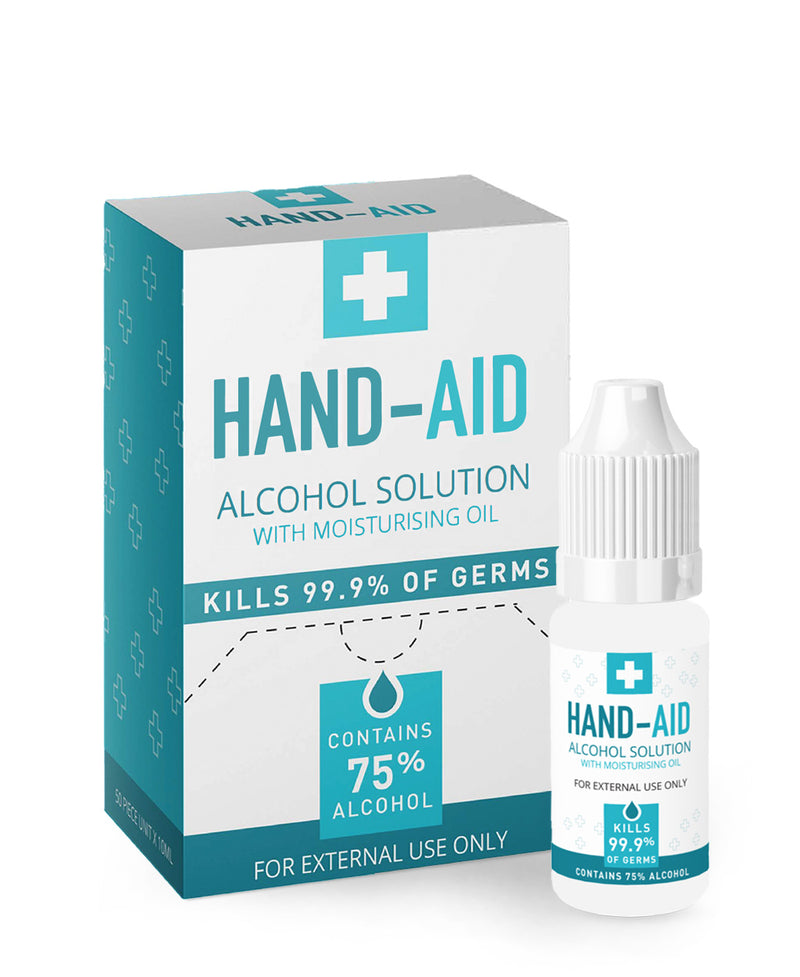 Hand Sanitiser 10ml (pack of 50)