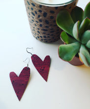 Load image into Gallery viewer, Heart Earrings