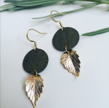 Load image into Gallery viewer, Autumn Leaf Drop Earrings