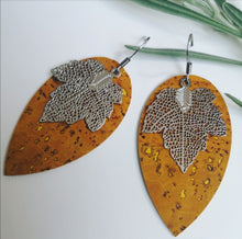 Load image into Gallery viewer, Maple Leaf Earrings