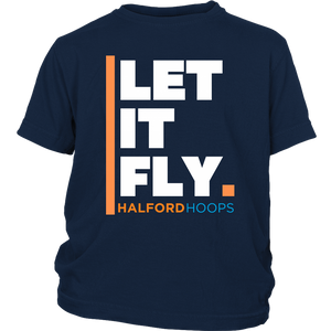 Halford Hoops Let It Fly Youth Shirt