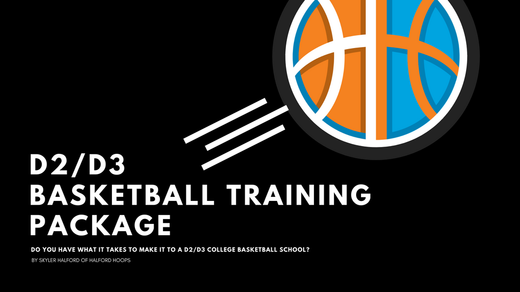 D-2/D-3 Basketball Training Package