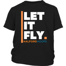 Load image into Gallery viewer, Halford Hoops Let It Fly Youth Shirt