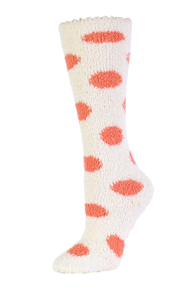 Load image into Gallery viewer, MOPAS LADIES PLUSH SOFT KNEE HIGH SOCKS (30801_DOT)
