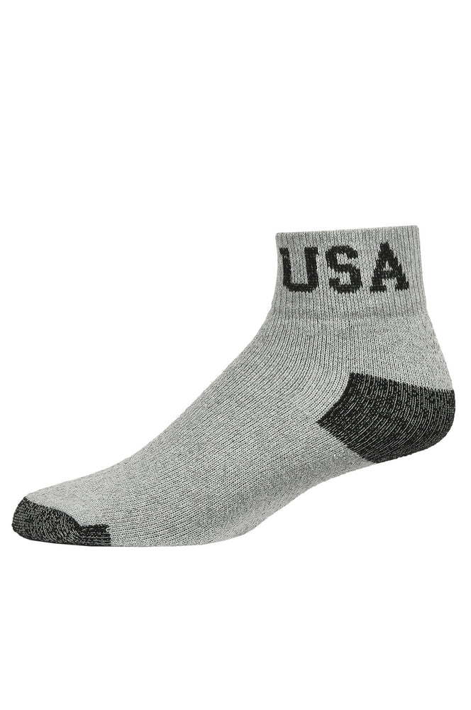 KNOCKER QUARTER SPORTS SOCKS (48523_G/BHTU)