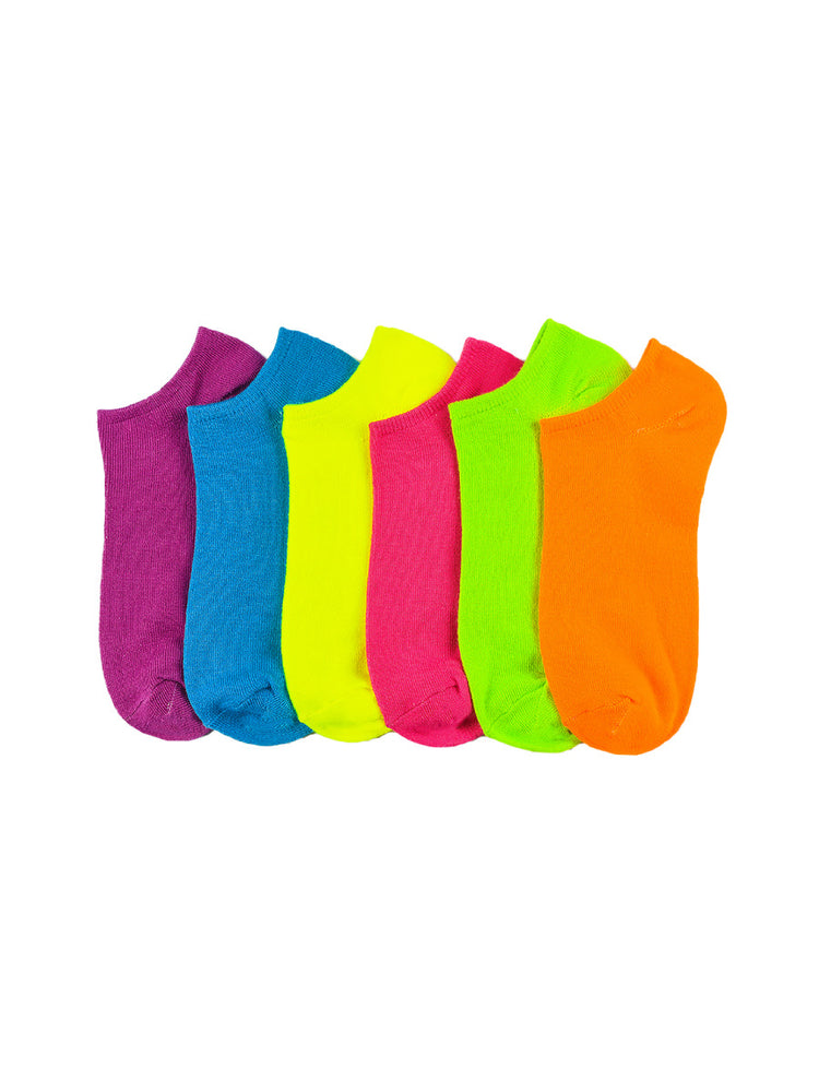 Load image into Gallery viewer, MAMIA SPANDEX SOCKS (NEOND) - 6-8