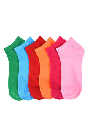 MAMIA SPANDEX SOCKS (SOLID) - BOX ONLY - 6-8, 9-11, 10-13