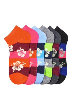 Load image into Gallery viewer, MAMIA SPANDEX SOCKS (TROPIC) - 6-8, 9-11