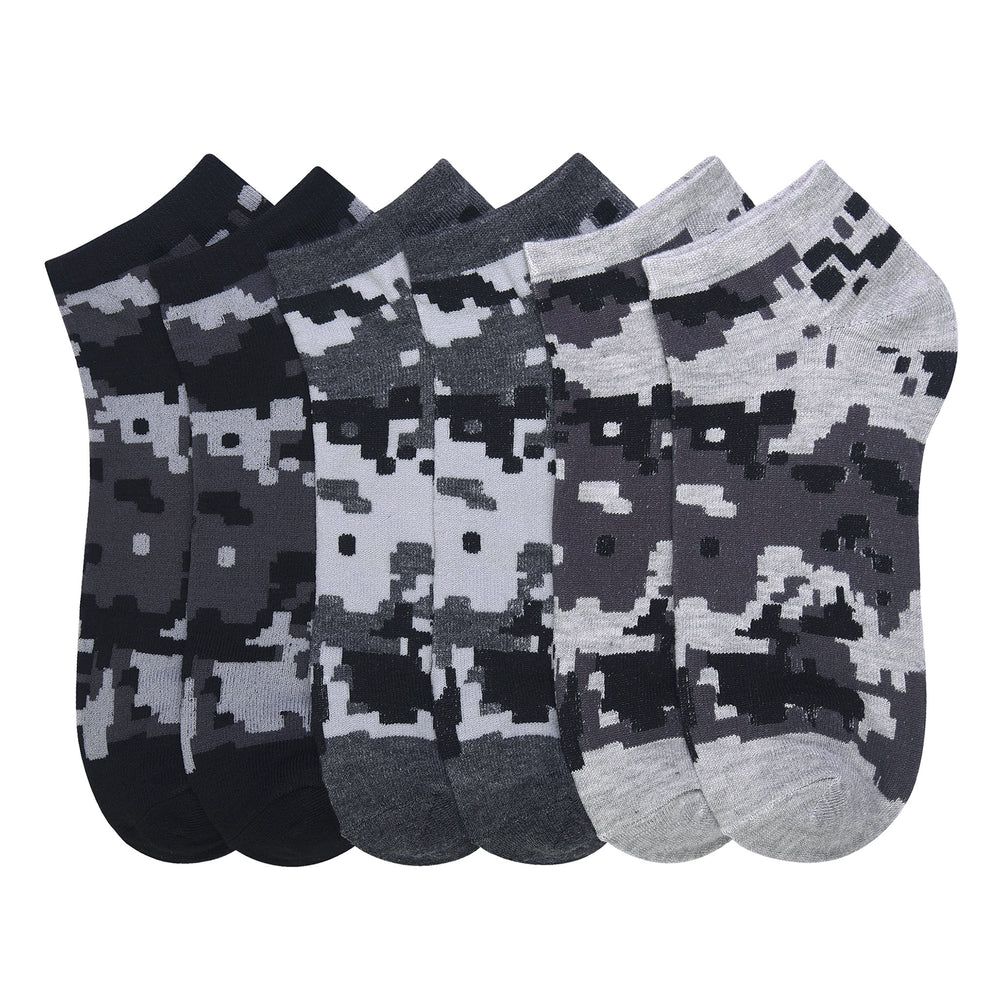 POWER CLUB SPANDEX SOCKS (DCAMO) - BOX ONLY - 9-11, 10-13