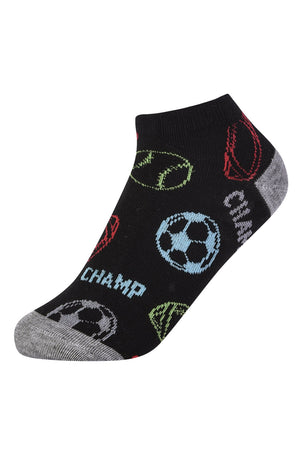 POWER CLUB SPANDEX SOCKS (LEAGUE3) - BOX ONLY - 4-6, 6-8