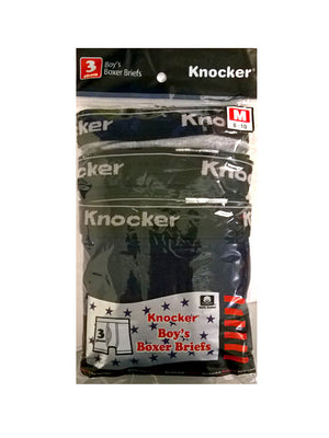 Load image into Gallery viewer, KNOCKER BOY'S COLOR BOXER BRIEFS (BBC1500)