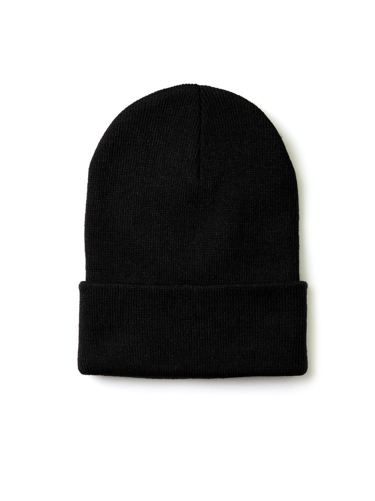 KNOCKER MEN'S ACRYLIC BEANIE (BN002_BLACK)