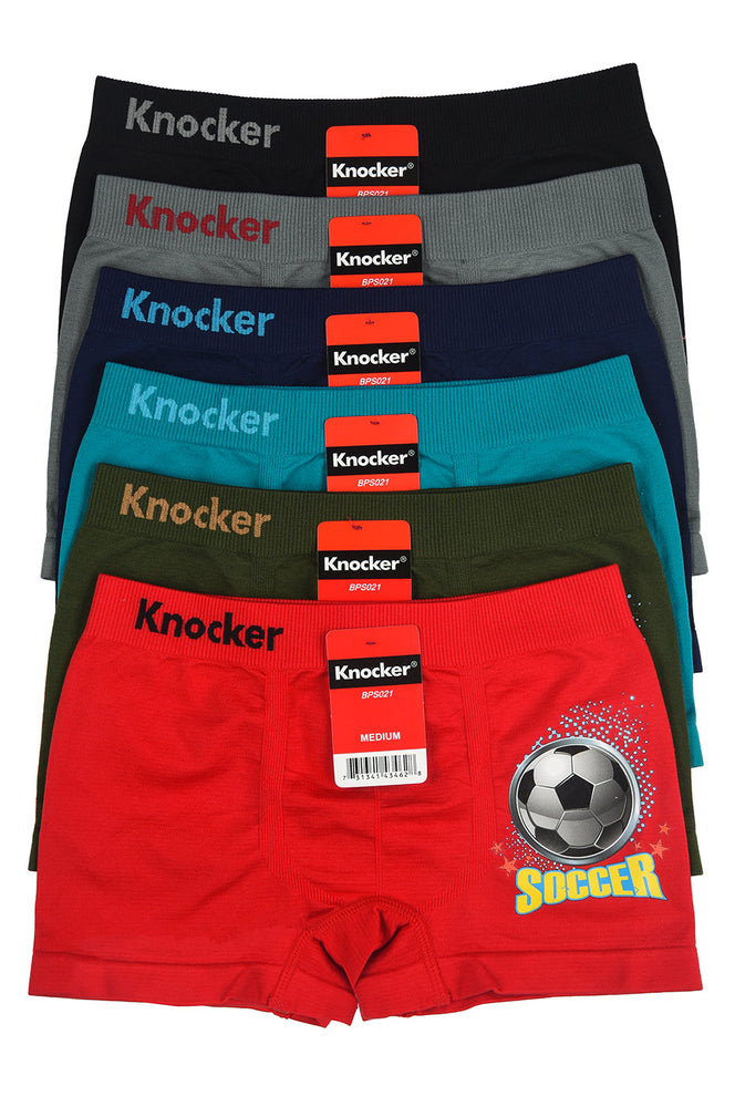 KNOCKER BOY'S SEAMLESS BOXER BRIEFS (BPS021)