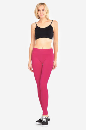 Load image into Gallery viewer, SOFRA LADIES HIGH WAIST LEGGINGS (EX905)